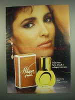 1984 Jovan Whisper of Musk Perfume Ad - Discover