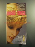 1984 Dep The Hair Manager Styling Liquid Ad - Obedience
