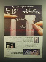 1984 Playtex Tampons Ad - Even More Comfort