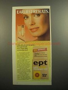 1984 e.p.t. Early in-home pregnancy test Ad - Results