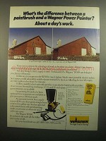 1984 Wagner W500 Power Painter Ad - What's Difference