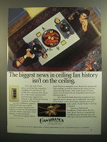 1984 Casablanca Inteli-Touch Fan Ad - Biggest News