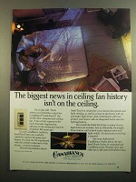 1984 Casablanca Inteli-Touch Fan Ad - The Biggest News