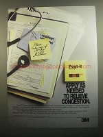 1984 3M Post-it Notes Ad - Apply As Needed