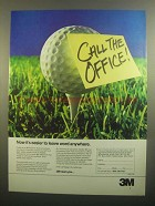 1984 3M Post-it Notes Ad - Leave Word Anywhere