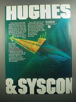 1984 Syscon Data Collection System Ad - Hughes