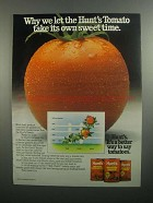 1984 Hunt's Ad - Whole Tomatoes, Tomato Sauce, Paste