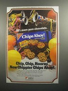 1984 Nabisco Chips Ahoy! Cookies Ad - Chip, Chip Hooray