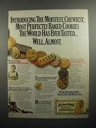 1984 Nabisco Almost Home Cookies Ad - Moistest
