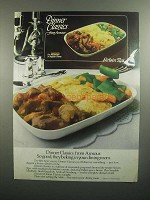 1984 Armour Dinner Classics Sirloin Tips Ad