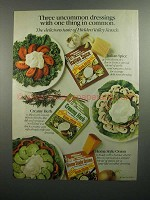 1984 Hidden Valley Ranch Dressing Mix Ad - Uncommon