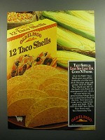1984 Old El Paso Taco Shells Ad - Good 'N Fresh