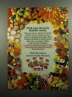 1984 Brach's Candy Ad - Pick Your Favorite