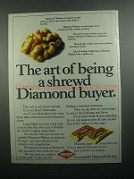 1984 Diamond Walnuts Ad - Shrewd Diamond Buyer