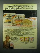 1984 Orville Redenbacher Microwave Popping Corn Ad