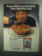 1984 Soup Starter Ad - More Than Opening a Can
