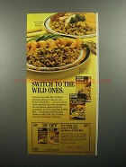 1984 Rice-A-Roni Brown & Wild Rice Ad - Switch To
