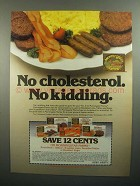 1984 Morningstar Farms Ad - Scramblers, Grillers, Links