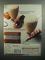 1984 General Foods International Coffees Ad - In Sun