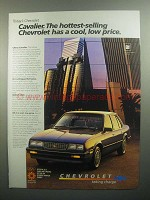 1984 Chevrolet Cavalier Ad - The Hottest-Selling