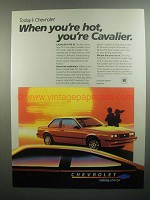 1984 Chevrolet Cavalier Type 10 Car Ad - You're Hot