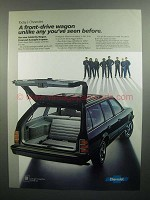 1984 Chevrolet Celebrity Wagon Ad - Unlike Any
