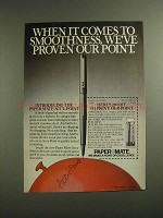 1984 Paper Mate Accu-Point Pen Ad - Proven Our Point