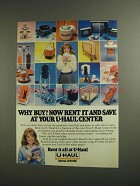 1984 U-Haul Rental Centers Ad - Why Buy?
