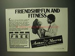 1984 Arthur Murray Dance Studio Ad - Friendship, Fun