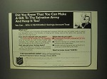1984 The Salvation Army Ad - Make A Gift
