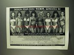 1984 Joyce Holder Just Bikinis Ad - Design Your Own