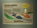 1984 Daniel Green Castaway, Missy and Sunburst Shoes Ad