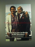 1984 ABC Matt Houston TV Show Ad - Buddy Ebsen