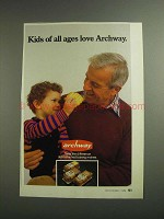 1984 Archway Cookies Ad - Kids of All Ages