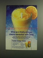 1984 Tang Ad - Frosted Orange Crme Recipe
