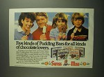 1984 Swiss Miss Pudding Bars - Five Kinds For All