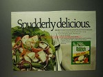 1984 Hidden Valley Ranch Dressing Ad - Potato Salad