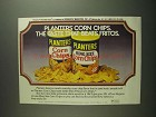 1984 Planters Corn Chips Ad - Beats Fritos
