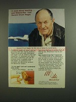 1984 Miracle-Ear Inner Ear Canal Aid Ad - Chuck Yeager