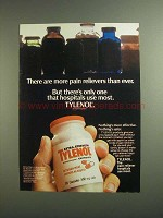1984 Extra-Strength Tylenol Ad - More Than Ever