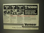 1984 Vermeer DP-24 Pump, LM-35 Plow & V-440 Trencher Ad