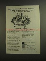 1984 Rochester Lodging, Minnesota Ad - Health Care