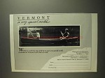 1984 Vermont Tourism Ad - Very Special World