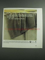 1984 Marte Vellux Blanket Ad - Nothing Seems to Last
