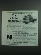 1984 Omaha Steaks Ad - Try a Little Tenderness