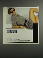 1984 Esprit Fashion Advertisement