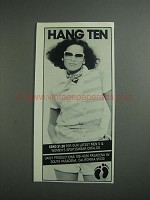 1984 Hang Ten Fashion Ad