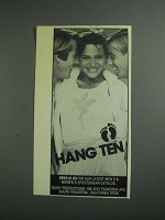 1984 Hang Ten Women's Fashion Ad