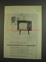 1955 Stromberg-Carlson Cremona K21-22H Television Ad