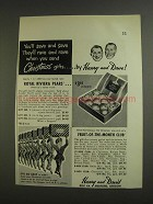 1955 Harry and David Ad - Royal Riviera Pears